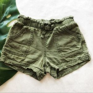 Old Navy Olive Green Shorts Size 3T